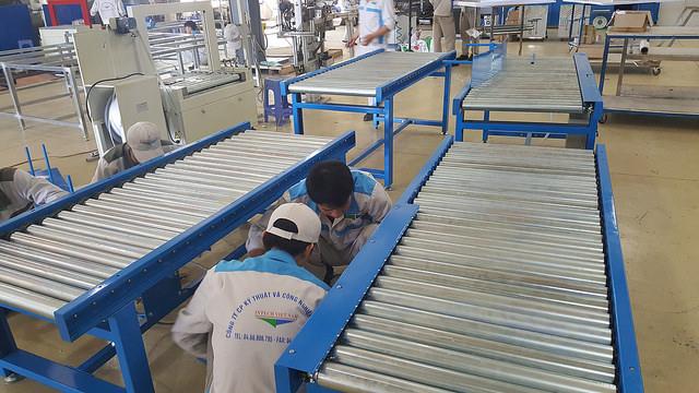 Hệ thống con lăn công nghiệp được hiểu như nào?